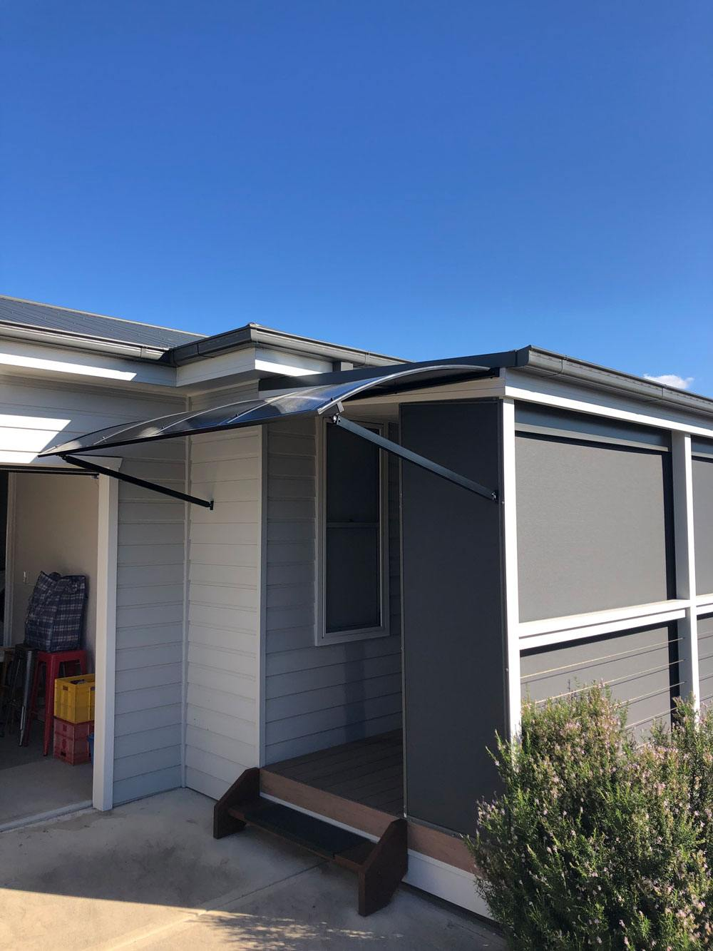 Bullnosed Window Awnings Central Coast | Emporium Blinds